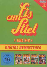 4 DVDs * EIS AM STIEL - BOX 2 - TEIL 5 - 8 # NEU OVP §