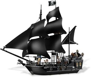 Lego Pirates of the Caribbean: The Black Pearl (4184) 100% Complete, No Box