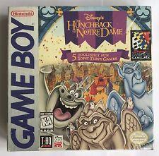 GameBoy le bossu de notre dame (1996) Brand New & Nintendo FACTORY SEALED