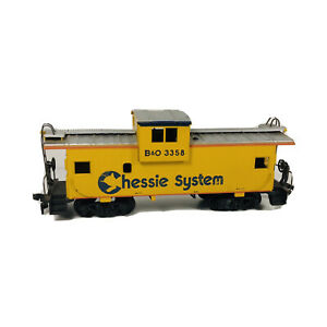 Vintage HO Athearn Chessie System Wide Vision Caboose B&O # 3358 Freight Train