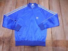 Vintage 80s Adidas ATP Keyrolan Track Navy Jacket  Large Made In Usa Run DMC