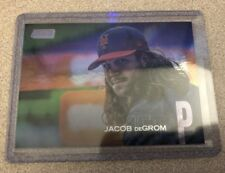 2018 TOPPS STADIUM CLUB Jacob deGrom Refractor 14/25 New York Mets