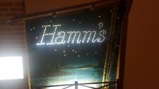 Hamms Beer Starry Skies Light Up Motion Sign Vintage 1960s