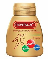 Ranbaxy Revital 60Capsules For Men Daily Health With Minerals Ginseng & Vitamin