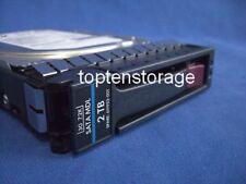 """HP 611953-001 2tb LFF 3,5"""" 7,2k 3gbs sata MDL Disque Dur/HDD 611816-b21"""
