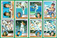 1983 TOPPS CLEVELAND INDIANS TEAM SET NM/MT  BLYLEVEN  SUTTCLIFFE