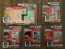 Lot Of 5 My Mini MixieQ's Play Case & Packs Drummer Polka Dots Heiress Robot NEW