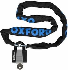 Oxford Cycle Lock and Bike Chain With Padlock 900mm X 6mm