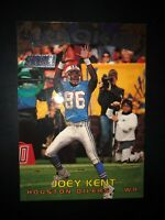 1997 TOPPS STADIUM CLUB FOOTBALL JOEY KENT #307 RC ROOKIE HOUSTON OILERS CARD FS
