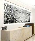 """ULTRA COOL SILVER ETCHED Metal Wall Art Modern 96""""×36""""  SIGNED By Jon Allen"""