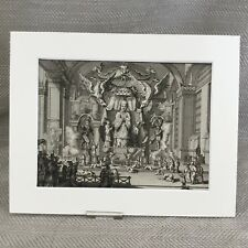 Rare 18th Century Engraving Picart Moubach Chinese Religion God Ca. 1727 Matzou