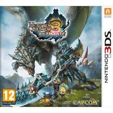 Monster Hunter 3 Ultimate Game 3DS