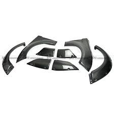EPR 8Pcs EG Style Front & Rear Fender Flares For Hyundai Veloster Carbon Fiber