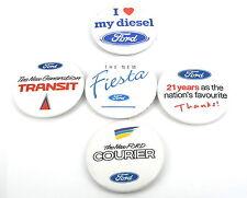 NEU Ford Sammler Satz von Retro Abzeichen Fiesta Focus Escort Mondeo Transit
