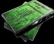 Detroit Diesel V-92 Service Manual on  CD, Bus, Truck, Boat, Generator,