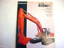 Hitachi Ex230-5 Excavator Literature
