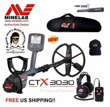 MineLab CTX3030 Metal Detector Deluxe Package! PLUS FREE Go Find 20& Pro Find 25