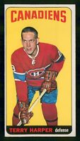 TERRY HARPER 64-65 TOPPS TALLBOYS 1964-65 NO EXMINT+  24334