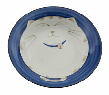 Assiette bol Chat Japonais Maneki Neko Ø 21.5 cm Porcelaine Made in Japan 369