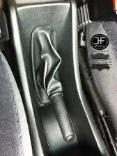 Encaja OPEL Vauxhall Zafira a 1999-2005 Negro Cuero Real Polaina de freno de mano