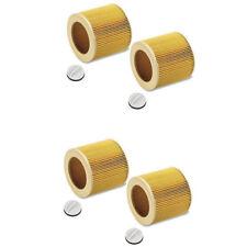 4 x Patronen Filter für Kärcher 4002 WD 2.200, WD 3.200, WD 3.300 M 6.414-552.0