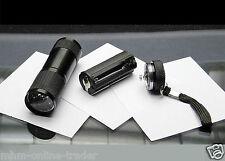 1x Geocaching Tool UV Led Taschenlampe 9 LED Schwarzlicht Lampe Geldscheinprüfer