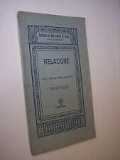 Istituto Educazione S.Anna Palermo RELAZIONE DEL XV° ANNO SCOLASTICO 1908-1909
