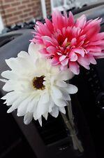 Hot pink & white VW flowers. Gerbera Flower VW Beetle universal T4 T5