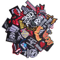 Wholesale Music Rock Punk Indy Reggae Mix Band Iron Sew on Embroidered Patch