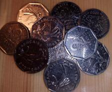 MONNAIE machine à sous jeux café billard flipper  - Lot de 50 pièces de 2 Francs