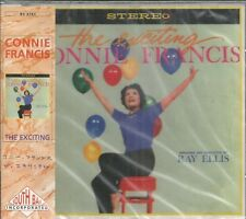 CONNIE FRANCIS - The Exciting  - BRAND NEW -  CD