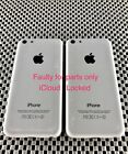 Apple iPhone 5C 32GB A1529 White (2 X Phones) FOR PARTS ONLY