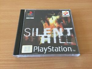 Silent Hill Replacement PS1 Covers Inlay - No Game / Case