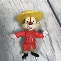 "Vintage Epcot Center Disney Chip & Dale Rescue Rangers Chip Figure - 3"" Tall"