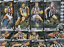2013 TEAMCOACH COLLINGWOOD FOOTBALL CARD SET WITHOUT GOLD CHECKLIST