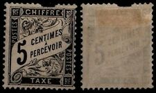 TAXE DUVAL Noir n°14, Neuf * = Cote 200 € / Lot Timbre France  2nd choix