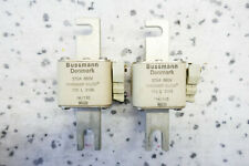 2x BUSSMANN DENMARK TYPOWER SILCU 170L3145 (375A 660V~) SICHERUNG - set of 2