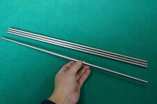"""8mm Dia Titanium 6al-4v round bar .314"""" x 20"""" Ti rod Grade 5 Metal Alloy 4pcs"""