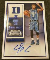 QUINN COOK 2015 PANINI CONTENDERS #134 AUTOGRAPH AUTO ROOKIE BLUE RC**LAKERS**