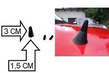 3 cm Sport Antenne Noir Pour Voiture DAIHATSU CUORE MITSUBISHI GALANT