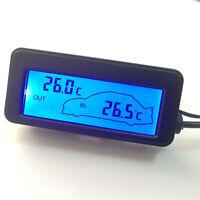 Auto KFZ Digital Thermometer Multifunktion Mini-LCD mit DC12v-Thermometer