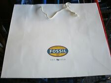 12 Brand New 21x7x18 LARGE FOSSIL Shopping Paper Gift Bags Store Collectibles