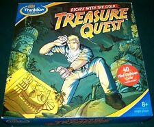 Thinkfun Escape With the Gold Treasure Quest Single Player Game - Complete