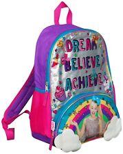Jojo Siwa Arco Mochila Ruck Saco Sholder Bolso Grande Poket impresión Back Pack Arco Iris