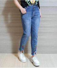 JEANS WITH PATCHES (XL-LIGHT)