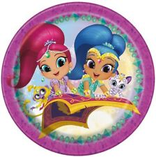 Shimmer and Shine Round Edible Party Cake Image Topper Frosting Icing Sheet