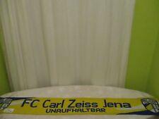 """FC Carl Zeiss Jena Original Fan Schal """"FC CARL ZEISS JENA UNAUFHALTBAR"""""""