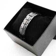 Titanium Magnetic Energy Germanium Armband Power Bracelet Safety Health Bio 4in1