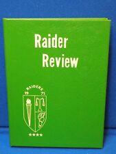 1971 Raider Review Yearbook Murfreesboro High School NC Student Alumni Annual 71