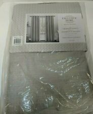 """Exclusive Home Tweed Woven Blackout Panels 52""""x84"""" Pair"""